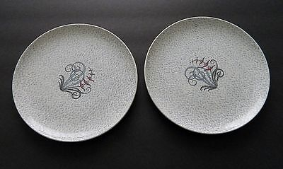 Spode China Copeland Made in England Singing Grass pattern 2 Salad Plates