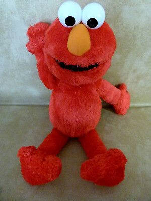 "ELMO Sesame Street Nice soft plush toy approx 21"" long very soft childrens toy"