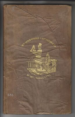 Rare 1845 Book - Finding A Ship's Position At Sea - By Capt. Thomas H. Sumner