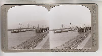 Wwi Stereoview - Glorious Vindictive - Realistic Travels