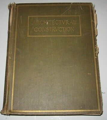 1925 Book - Architectural Construction Vol 1 - By Voss & Henry