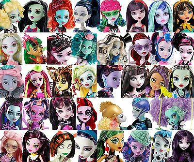 ** All Dolls Bnib **   Various Monster High Dolls   ** Bnib & Nrfb **
