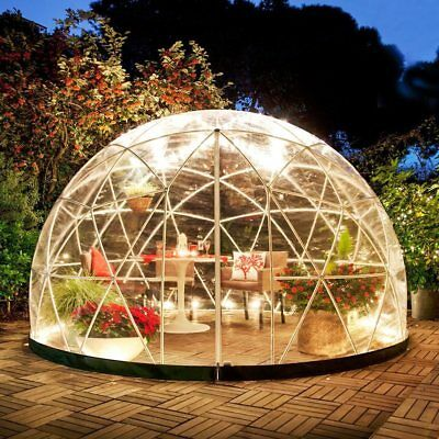 Igloo Conservatory Dome Gazebo Outdoor Pavilion Cover Greenhouse Christmas Party