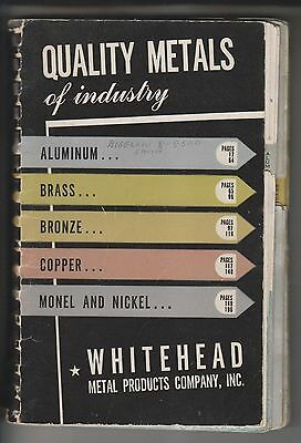 VINTAGE CATALOG - WHITEHEAD METAL PRODUCTS COMPANY - STOCK LIST No.14