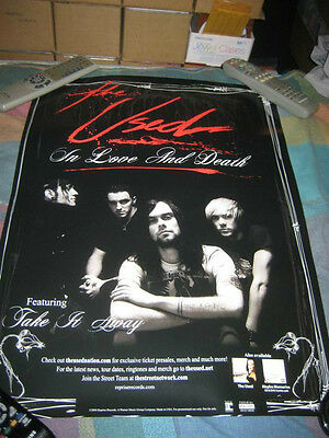 THE USED-(in love and death)-1 POSTER-18X24-NMINT-RARE