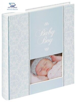 Walther, Album Bébe, Daydreamer, UK-159-R, 50 Pages Blanches, 28x30,5 cm, Bleu