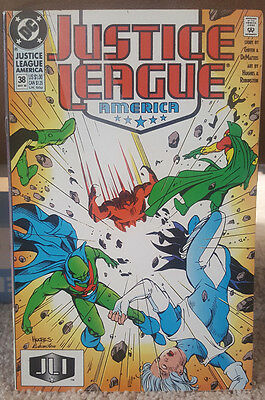 Justice League America #38 (May 1990, DC)