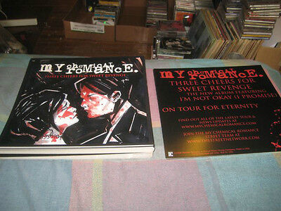MY CHEMICAL ROMANCE-(three cheers for sweet revenge)1 POSTER-2 SIDED-12X12-NMINT