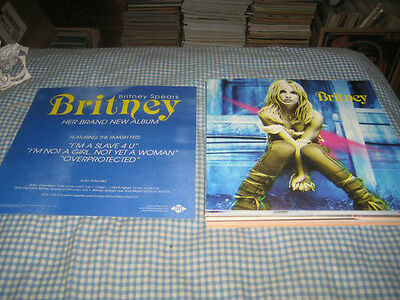 BRITNEY SPEARS-(britney)-1 POSTER-2 SIDED-12X12-NMINT-RARE