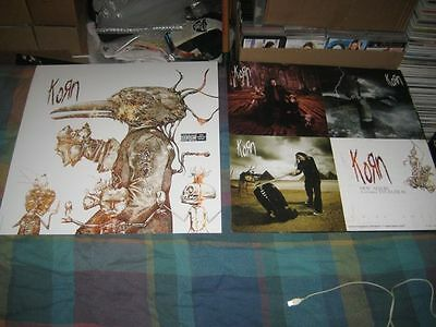 KORN-(featuring EVOLUTION)-1 POSTER FLAT-2 SIDED-24X24-NMINT-RARE