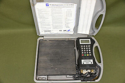 9055 TIF Slimline Electronic Charging Programmable Refrigerant Meter Scale