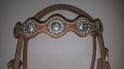 Western Horse stock bridle style 12