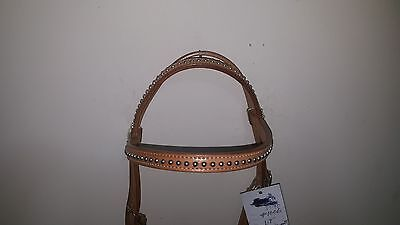 Western Horse stock bridle style 9