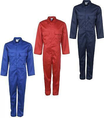 Mens Boiler Suit Overall Coverall Long Sleeves Work Safety Protection Clothing