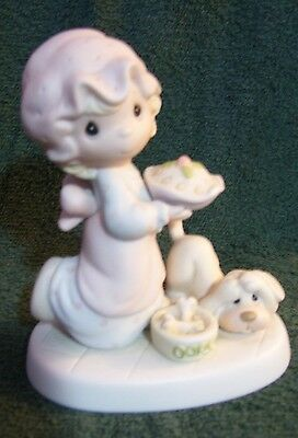Precious Moments DROPPING OVER FOR CHRISTMAS - Retired - E-2375