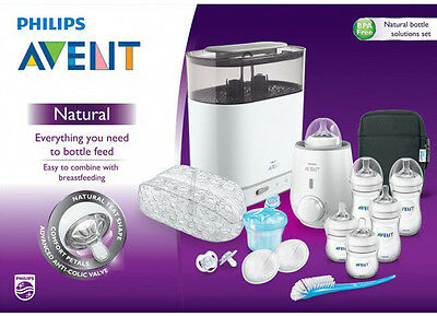 Brand NEW Philips AVENT Natural Bottle Solutions Free Shipping