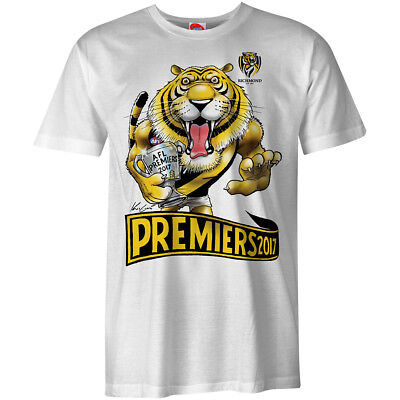 2017 Richmond Mark Knight Premiers Tee (Mens, Ladies and Kids Sizes Available)
