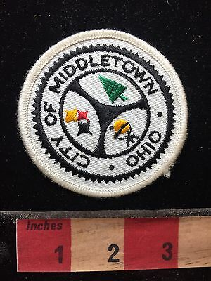 City Of Middletown Ohio Patch S75T
