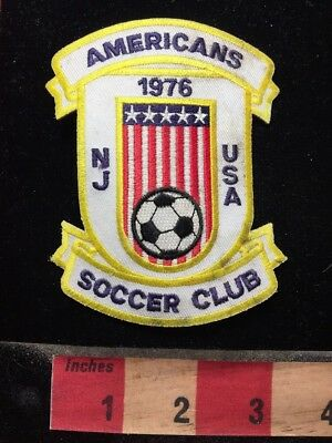 As-Is Condition ~ Americans Soccer Club 30th Anniversary New Jersey Patch 74K7