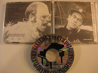 Elton John REGINALD KENNETH DWIGHT unreleased tracks NUMBERED factory press CD