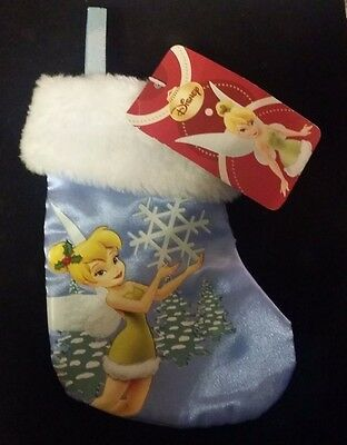 Disney Mini Tinker Bell Stocking/Christmas Disney Stocking/New with Tags/7 inch