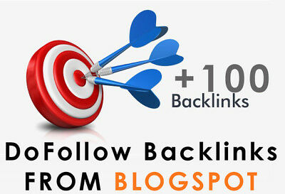 100+ DoFollow Backlinks From Blogspot Blogs SEO Backlinks + Full Report
