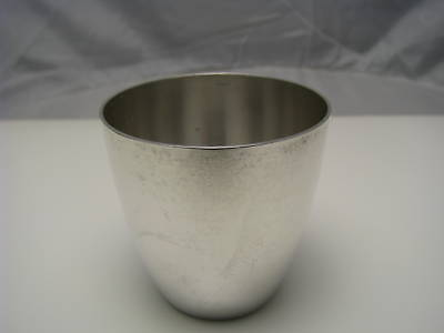 CONTINENTAL SILVER CUP KIDDUSH CUP BEAKER WINE CUP 800Silver by AM Germany 1930s