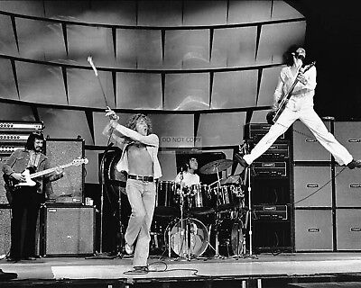 """the Who"" Pete Townshend Roger Daltrey Keith Moon Enwistle - 8X10 Photo (Fb-444)"