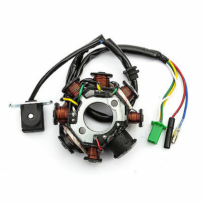 Stator Magneto Generator Fits Baotian 125cc Chinese Scooters 8 Pole See Picture