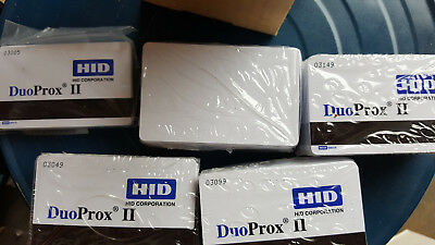 HID 1336-LGGMN DuoProx II Proximity Cards with Mag Stripe 32 bit A10701 50 Pack