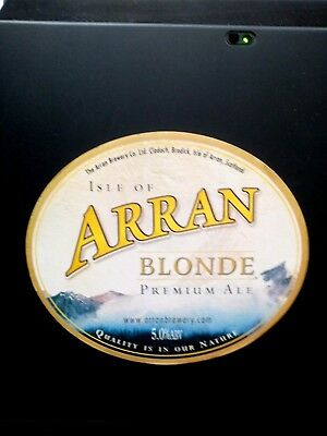 Scottish Arran Blonde Beer Tap Top Handle/Knob/Badge