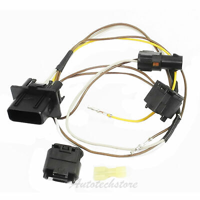 RIGHT HEADLIGHT WIRE Harness Connector Repair Kit For W208 ... on bucket truck harness, heavy duty headlight harness, headlight bracket, headlight relay harness, headlight connectors,