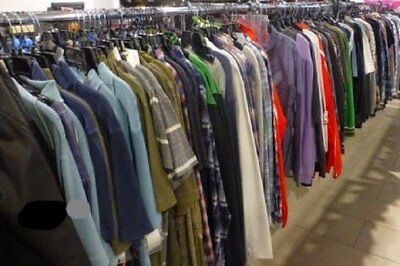 50 piece Lot - Wholesale Mixed Lot of MENS Quality Clothing for Resale S-M-L-XL