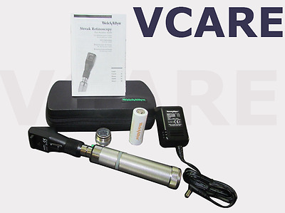 Welch Allyn 3.5v Streak Retinoscope with Ni-Cad Handle # 18342-VC