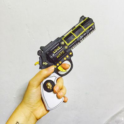 Suicide Squad Harley Quinn Costume Cosplay Prop Gun Accessories