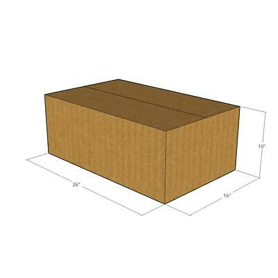 10 -26 x 16 x 10 Corrugated Boxes -New for Moving or Shipping Needs