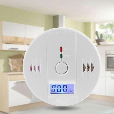 HOT SELL CO Carbon Monoxide Poisoning Gas Sensor Alarm Detector UK