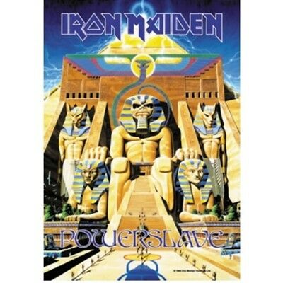 Iron Maiden Powerslave Poster Flag Textile Wall Banner New Official