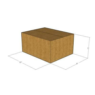 25 - 10 x 8 x 5 200# / 32 ECT New Corrugated Boxes