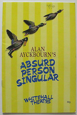 Ayckbourn Absurd Person Singular Richard Kane Lavinia Bertram Jeff Shankley