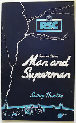 Man & Superman Susan Hampshire Nigel Havers Richard Pasco Nicky Henson
