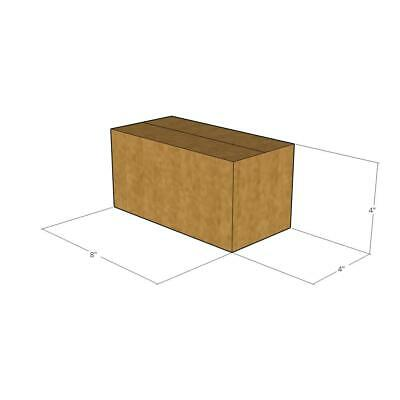 50 New Corrugated Boxes - 8 x 4 x 4 200# / 32 ECT