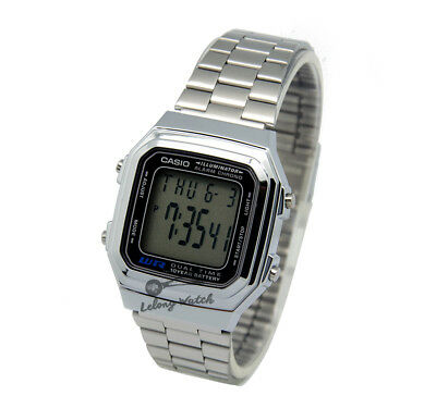 -Casio A178WA-1A Digital Watch Brand New & 100% Authentic