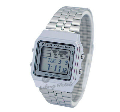 -Casio A500WA-7D Digital Watch New & 100% Authentic