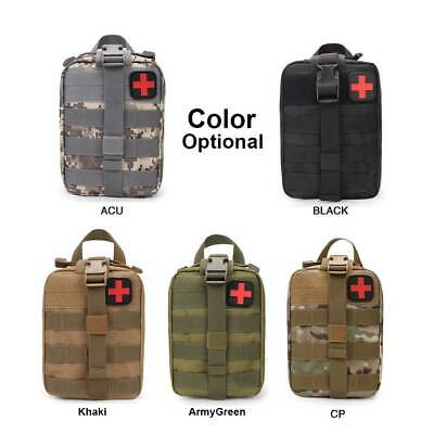 Tactical EMT Medical First Emergency Aid Kit Bag Cover Outdoor Travel Carry Bag