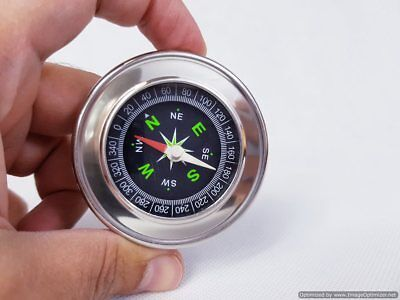 Pocket Metal Compass Camping Vintage Outdoor Army