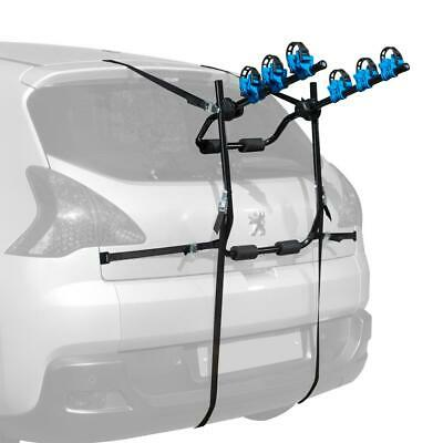 Summit High Mount 3 Bike Rack / Cycle Carrier Universal Rear Fit Single Carrier