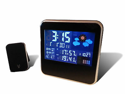 Weather Station With Outdoor Sensor/Transmitter- Wireless Weather Station Gadget