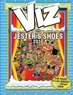 Viz: The Jester's Shoes Annual 2018