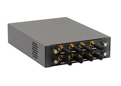 VoIP GSM Gateway, SIM Box, 8 GSM Channel for Asterisk, 3CX, Askozia, Elastix